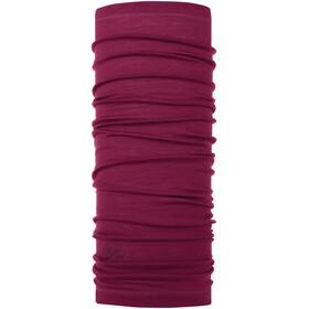 Buff Merino Wool Denim Neckwarmer solid purple raspberry